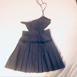 Thakoon High-waist Pleats Dress